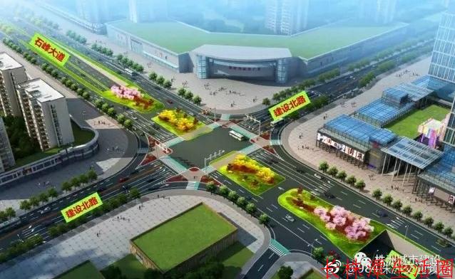 响石广场改造工程愿景图