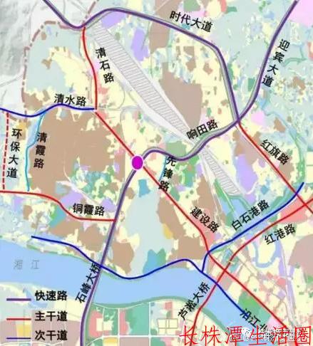 响石广场改造项目线路图
