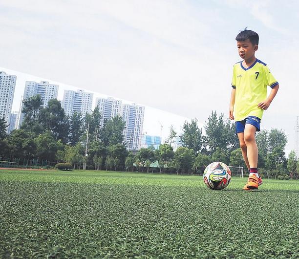 长沙细伢子当选世界杯球童