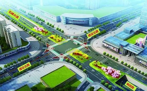 明天响石广场改造隧道工程正式开工,通行安排请看~